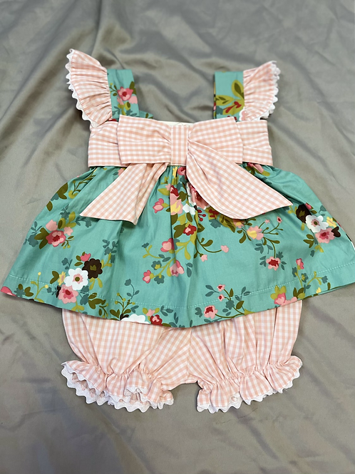 Three Sisters Floral 2PC Set