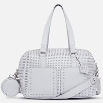 Mayoral Gray Studded Diaper Bag