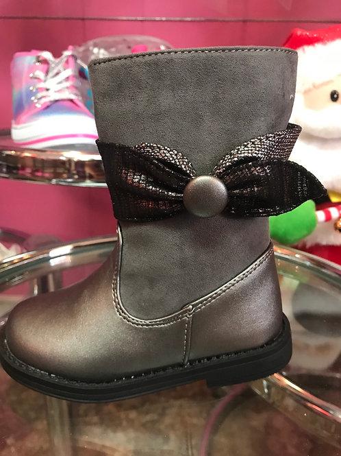 Laura Ashley Grey Boots