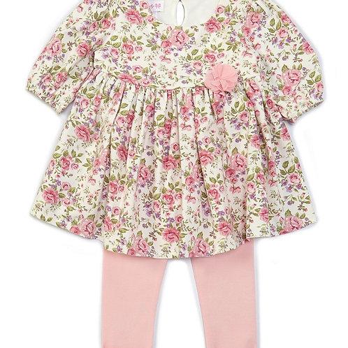 Bonnie Jean Pink Floral 2PC Set