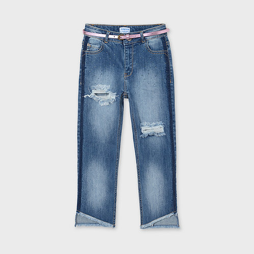 Mayoral Slim Cropped Jeans