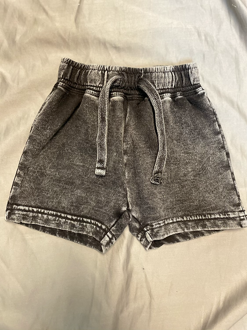 Mish Boys Acid Wash Drawstring Shorts