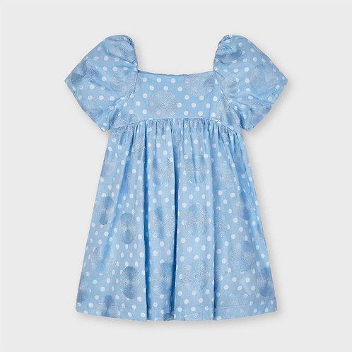 Mayoral Blue Dots Dress