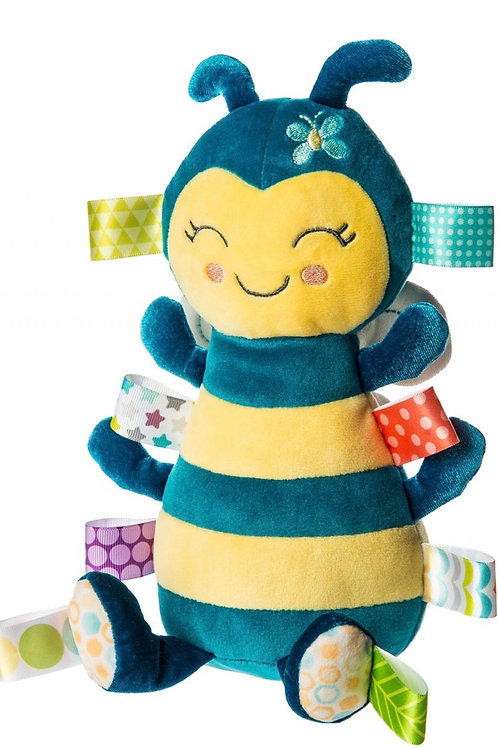 Mary Meyer Taggies Fuzzy Buzzy Bee Soft Toy – 11″