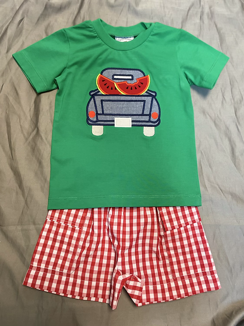 Three Sisters Watermelon Truck 2PC Set