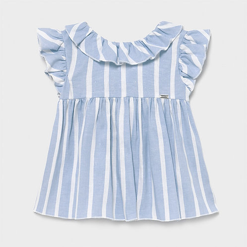 Mayoral Blue Linen Dress