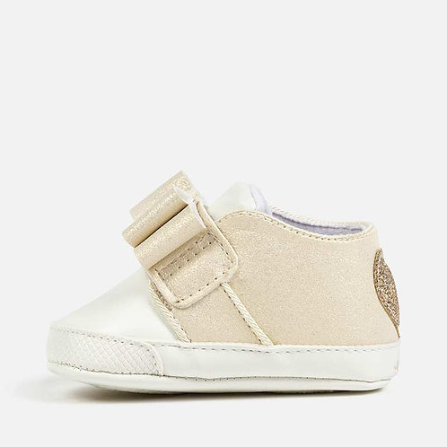 Mayoral Girl's Slip-ons with Glitter Heart