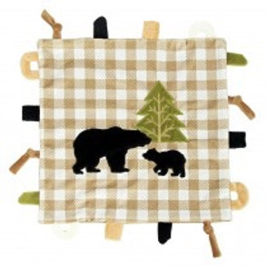 Maison Chic Griffin the Black Bear Multifunction Blankie