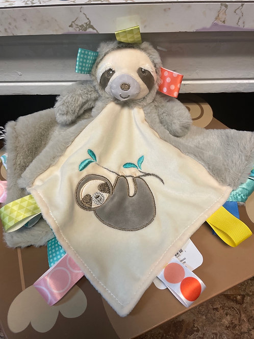 Taggies Molasses Sloth Character Blanket
