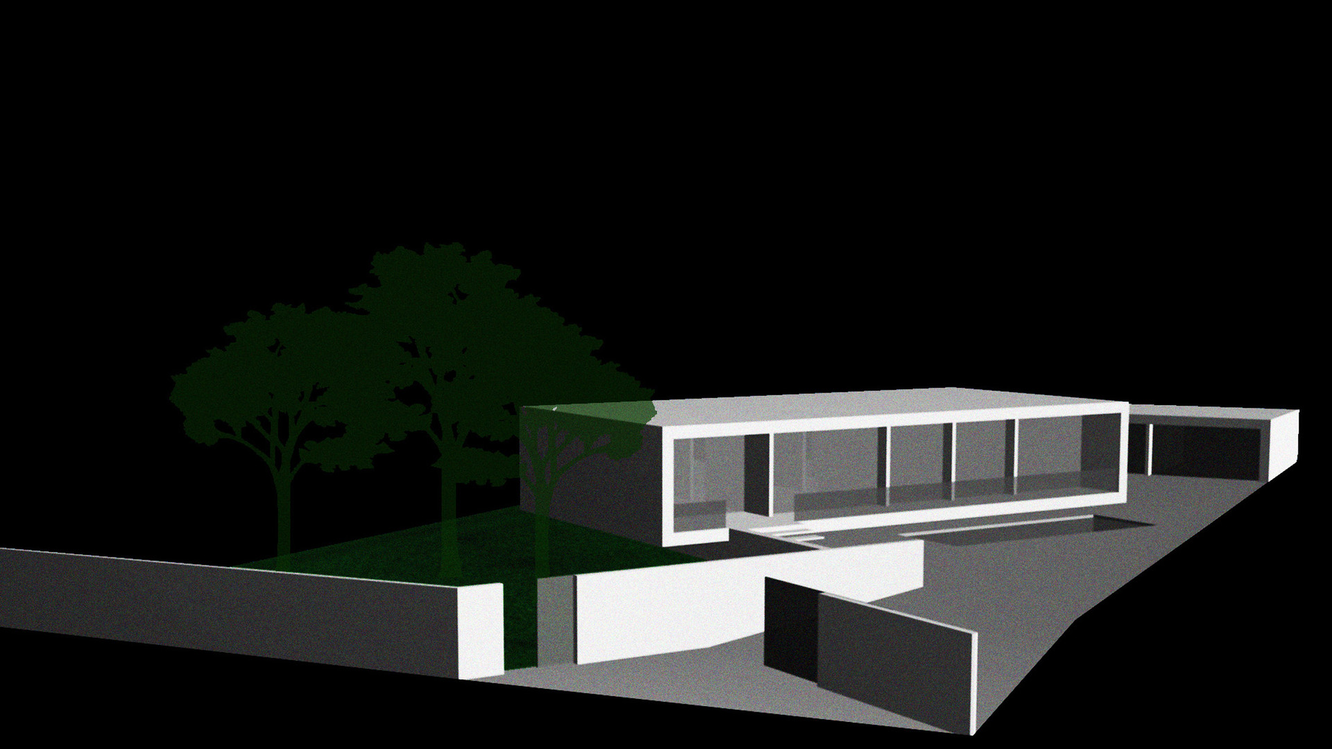 casa CUBE - infografia
