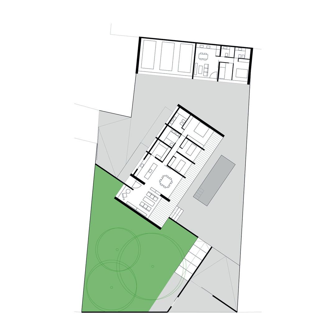 casa CUBE - plano