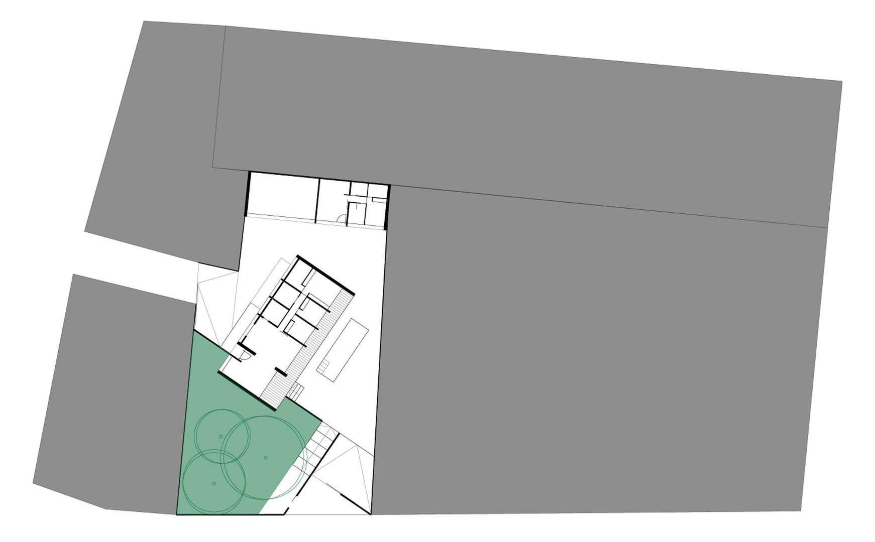 casa CUBE - entorno