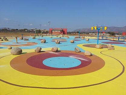 Waterpark Floor Finish done by Concretewise.