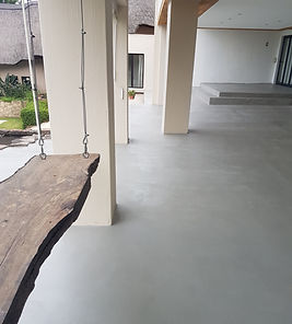 Light Grey Micro-Crete Concrete Floor Finish, by Concretewise