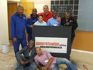 Concrete Flooring Training. An example of a Concrete Logo by Concretewise.