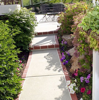 A Decorative Concrete Walkway by Concretewise