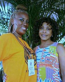 Jueles with Karen C _ Caribbean Village