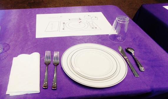 Etiquette Dining