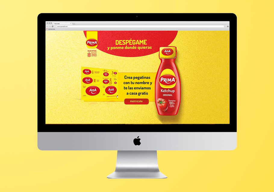 PROMOTIONAL WEB FOR PRIMA
