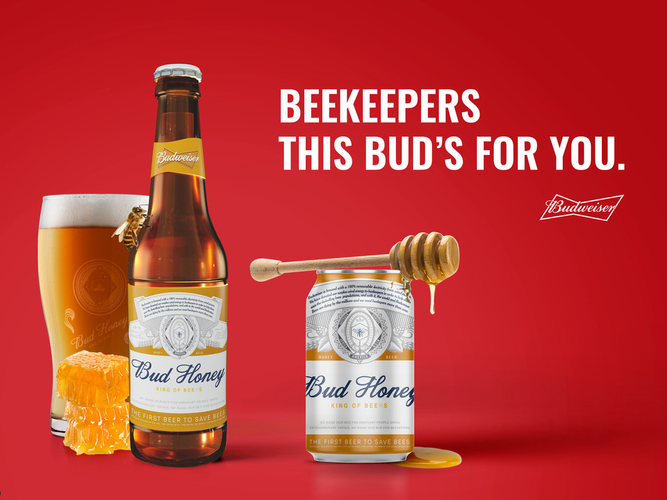 THE FIRST BEER TO SAVE BEES