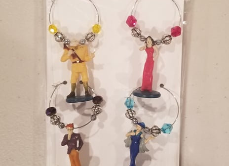 Clue Character Charms