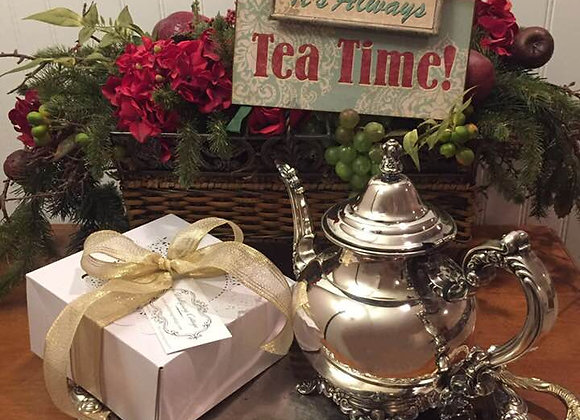 Tea Time Box w/Tea Cup