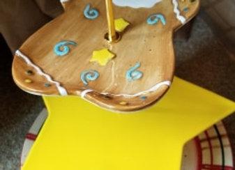 Gingerbread w/Star