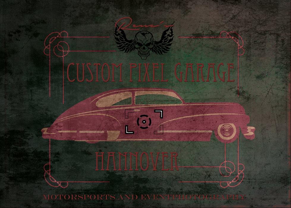custom pixel garage
