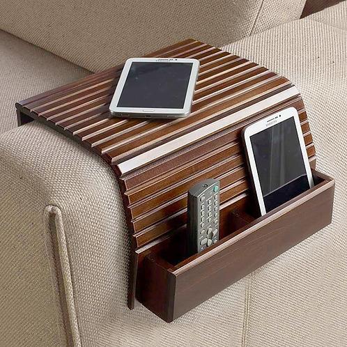 Esteira para sofá com porta controle