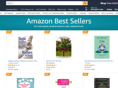 """""""Not Far From The Tree"""" Reaches #79 on Amazon Best Sellers"""