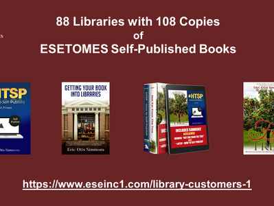 ESETOMES Books Now In 88 Libraries