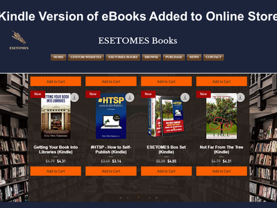 Kindle Books Added to Online Store