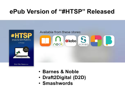ESE, Inc. Rolls Out EPUB Version of #HTSP for Apple and Others