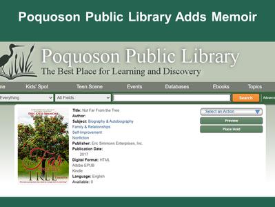 Virginia Library Adds Memoir