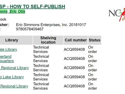 5 North Carolina Libraries Purchase #HTSP