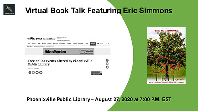 Simmons Virtual Book Talk - Phoenixville