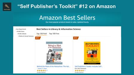 """Self Publisher's Toolkit"" #12 on Amazon"