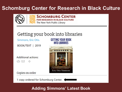 Schomburg Center to Add 3rd Book