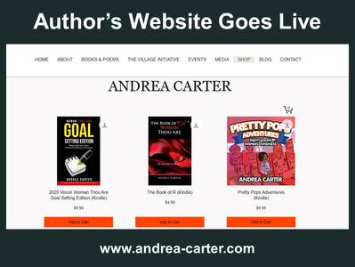 Author's Site Goes Live