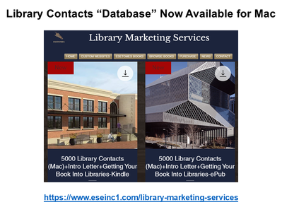 """Library Contacts """"Database"""" for Mac"""