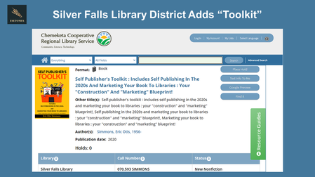 """Oregon Library Adds """"Toolkit"""""""