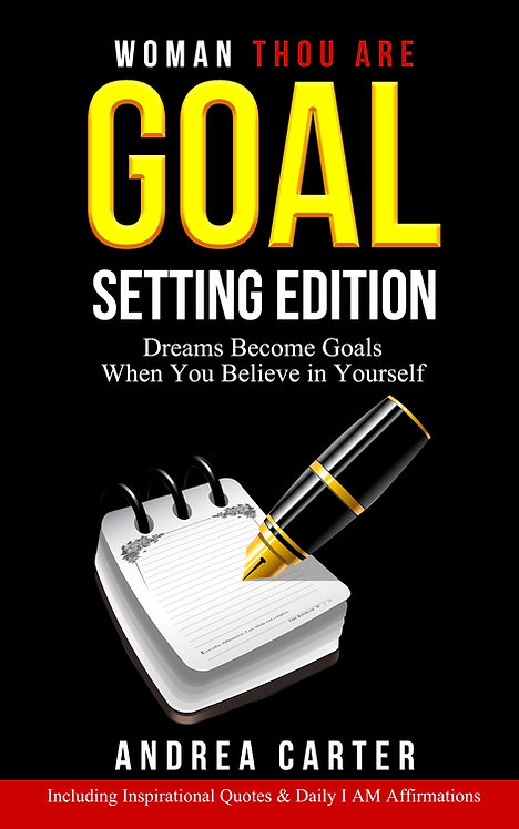 2020 Vision Woman Thou Are Goal Setting Edition (Kindle)