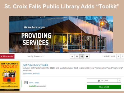 St. Croix Falls Adds Toolkit