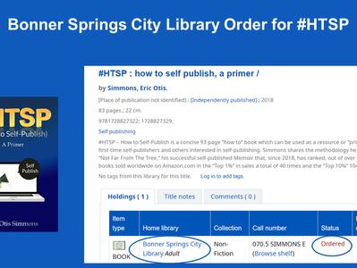 Library Order for #HTSP