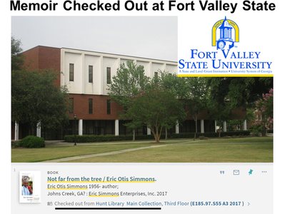 Memoir Checked Out at Fort Valley State University