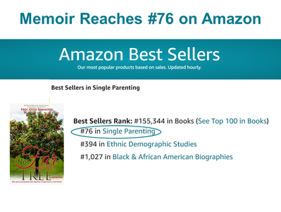 """""""Not Far From The Tree"""" #76 on Amazon"""