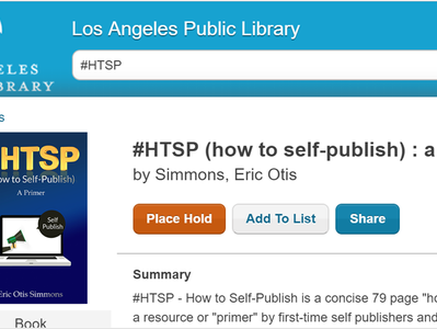 #HTSP Arrives at Los Angeles Public Library