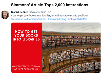 Simmons' Library Article Tops 2,000 Interactions