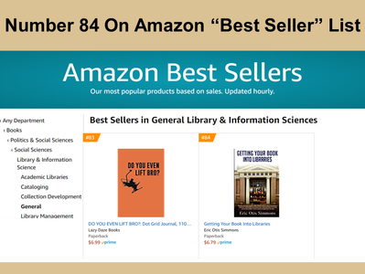 """""""Getting Your Book Into Libraries"""" Number 84 on """"Best Seller"""" List"""