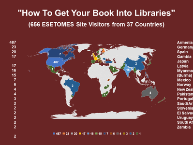 """""""How To Get Your Book Into Libraries"""" Impact on Website"""